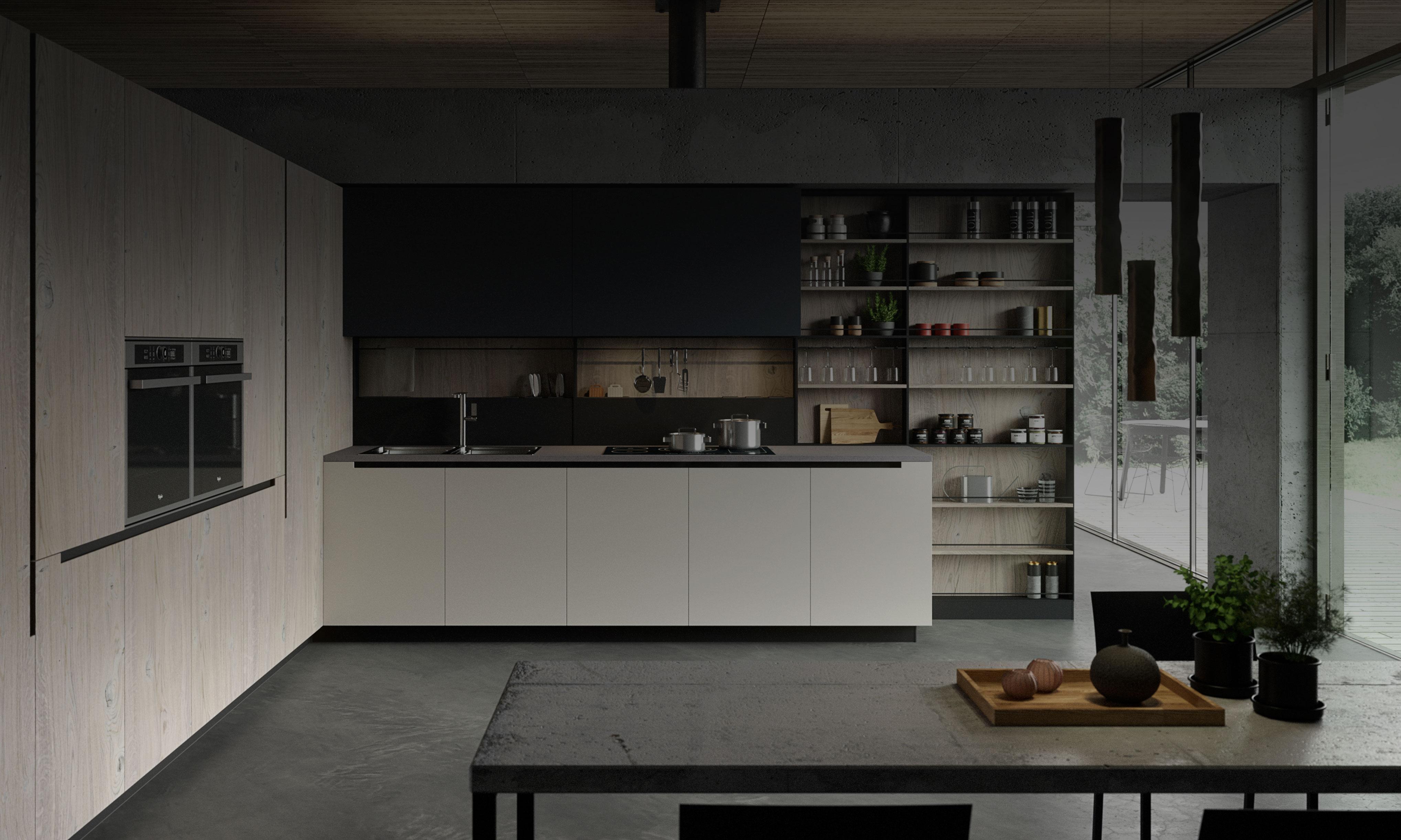Cocinas en pamplona casa m a mobiliario de dise o italiano - Armarios diseno italiano ...